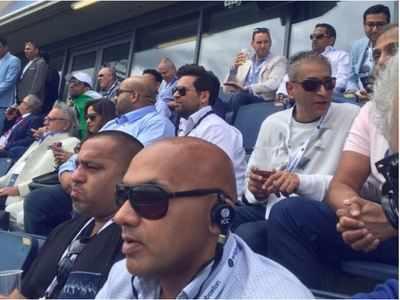 Champions Trophy 2017: Vijay Mallya, Sunil Gavaskar spotted during India-Pakistan match