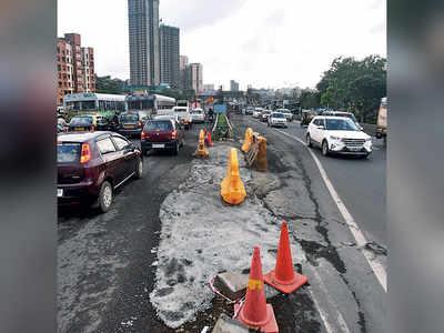Red-faced MMRDA gets cracking on potholes