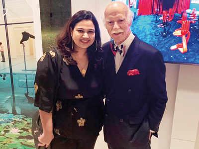 Pooja Dhingra meets Chef Anton Mosimann in Tokyo