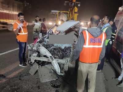 Major accident on Mumbai-Pune Expressway, four killed