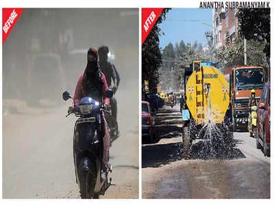 Gear Road residents are making it rain