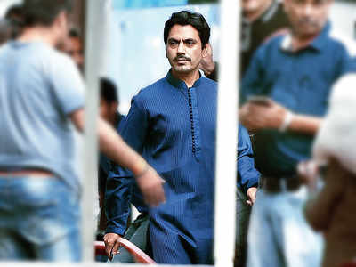 Before lockdown, Nawazuddin Siddique spotted in Goregaon