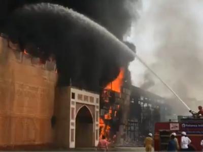 Karjat: Fire breaks out at ND studio; Jodhaa Akbar set up in flames