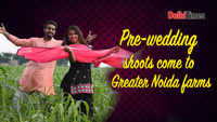 Pre-wedding shoots come to Greater Noida farms