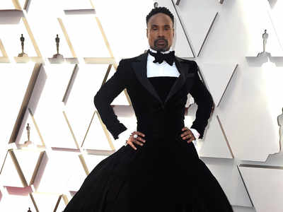 Billy Porter wins hearts with his dramatic look