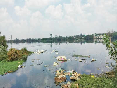 A once pristine waterbody is now a dumpyard