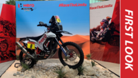 Hero MotoSports' bike for Dakar Rally 2020