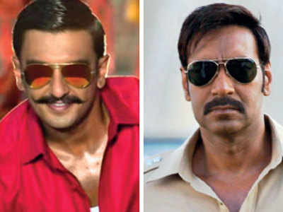 Who do you prefer in the role of cop – Ajay Devgn as Singham or Ranveer Singh as Simmba?