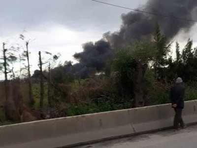 Algerian military plane crashes near base, over 100 killed