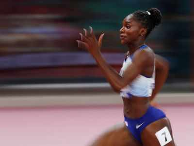 World Athletics Championships: Dina Asher-Smith wins 200m gold, becomes first British woman to win short sprint title