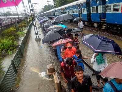 Mumbai Rains Impact trains - Heavy downpour affects services on Central, Western and Harbour line; no trains between Thane and CSMT