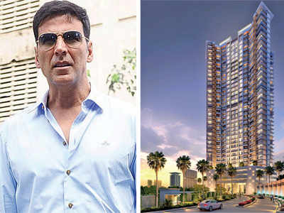 Akshay Kumar buys 4 flats at Rs 4.5 crore each in Andheri