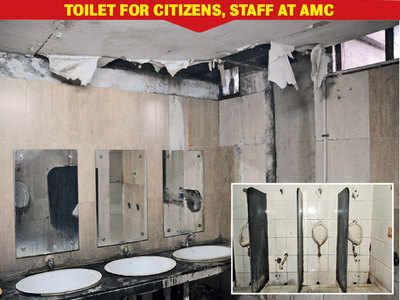 Swachh toilet for mayor, stinking ones for others