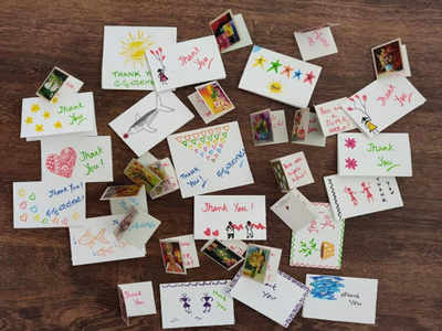 Malleswaram Mirror Special: Say Thank you with cards