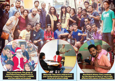 Bengaluru's Santas without a clause: They spread hope, joy and love, 365 days a year