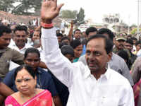 Hyderabad: CM KCR paid homage to martyrs on January 17