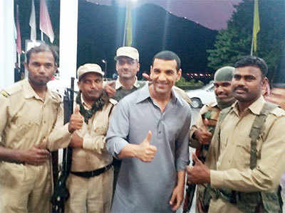 John Abraham always smiles with us: The actor's security team from the Valley