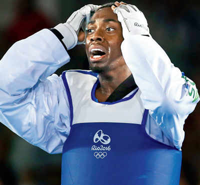 Taekwondo athlete misses gold in the last second