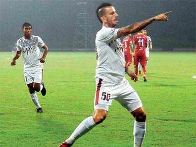 Mohun Bagan overwhelm TRAU FC for first win of I-League
