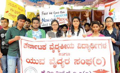 Medical aspirants from state seek better deal