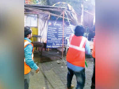 PMC staff caught warning vendors to evade their squad