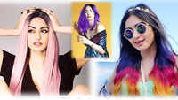 Adah Sharma flaunts three hair colours