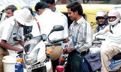 When traffic cop stops, dig into digi locker