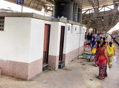 Railways to set up 25 shiny new toilets for commuters