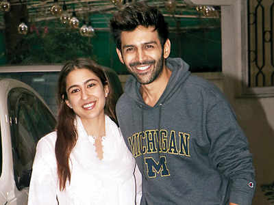 All's well between Sara Ali Khan and Kartik Aaryan