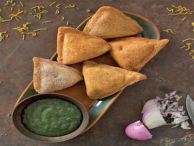 Bytes of Bengaluru: Super samosas