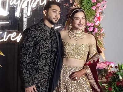Gauahar Khan-Zaid Darbar wedding highlights: Sanjay Leela Bhansali, Manish Malhotra and others attend the reception