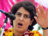 Priyanka Gandhi visits Vindhyavasini temple during her UP tour, following Indira Gandhi's steps