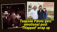 Taapsee Pannu gets emotional post 'Thappad' wrap up