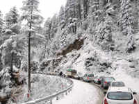 Continuous snowfall spells trouble for Himachal Pradesh locals