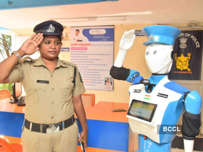 Vizag gets humanoid cop Ms Cybira to keep police in check