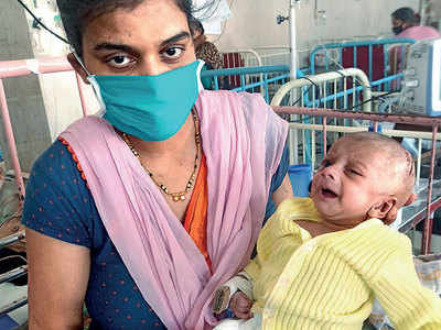 7-week-old beats Covid-19, recovers post haemorrhage