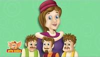 Kids Stories | Nursery Rhymes & Baby Songs - 'English Talking Book'- Kids Nursery Story In English