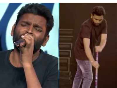 This Indian Idol 12 contestant swept floors of the same set in previous seasons