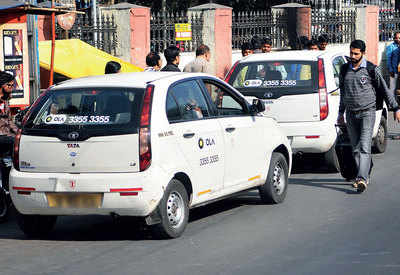 Radio cabs surge prices as monsoon lashes city