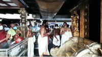 Sabarimala temple opens for monthly pooja and Vishnu festival