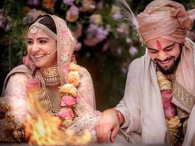 It's official! Virat Kohli and Anushka Sharma get married in Italy!