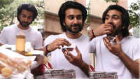 'Malaal' actor Meezaan Jaaferi enjoys street-food in Mumbai