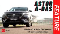 MG Astor | Autonomous level-2 features