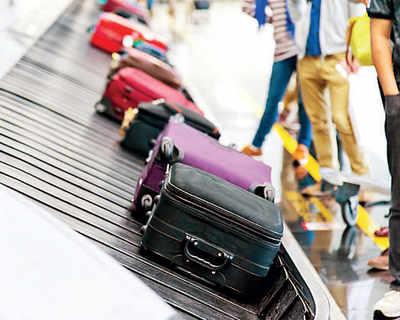 Baggage handling time