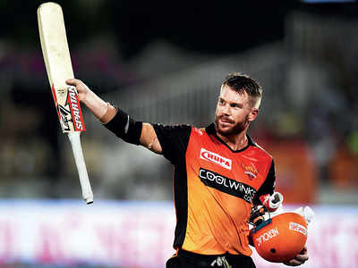 David Warner signs off in style
