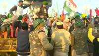 Protesting farmers break barricade at Tikri border, enter Delhi