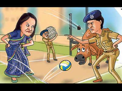 In Gujarat, women IAS, IPS officers lock horns over cow