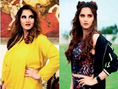 Sania Mirza loses 26 kgs in 4 months, shares photo on social media