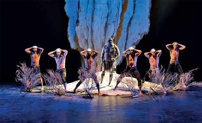 Oz-some Aboriginal dance show has city spellbound
