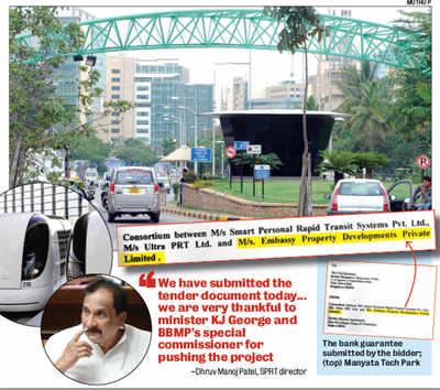 KJ George's biz partner makes a silent bid for Bengaluru's pod of gold